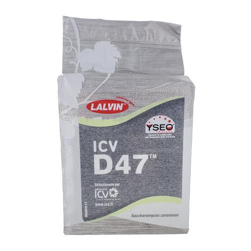 Lalvin ICV-D-47 Dry Wine Yeast 500 Gram Brick