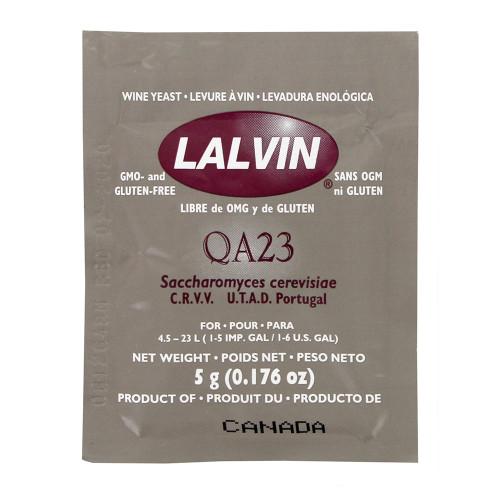 Lalvin QA23 Wine Yeast - 1 Pack