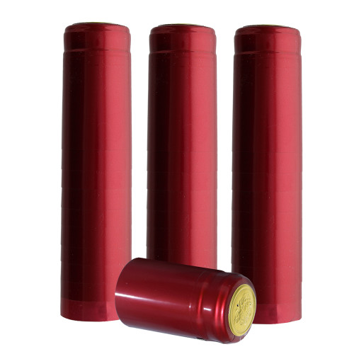 Home Brew Ohio Metallic Ruby Red PVC Shrink Capsules 30 count