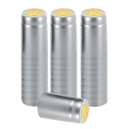 Home Brew Ohio Silver PVC Shrink Capsules 30 count