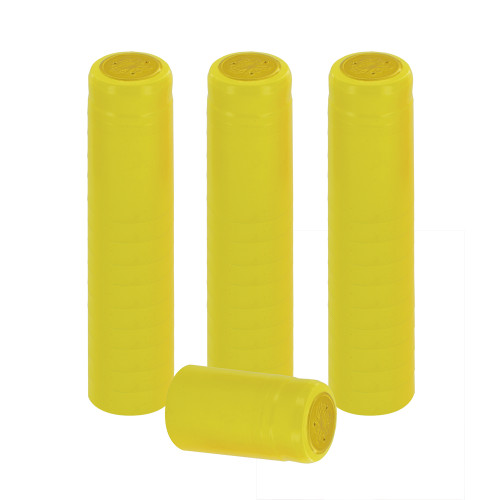 Home Brew Ohio Yellow PVC Shrink Capsules 30 count