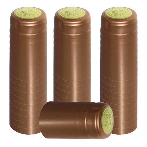 Home Brew Ohio Bronze PVC Shrink Capsules 30 count