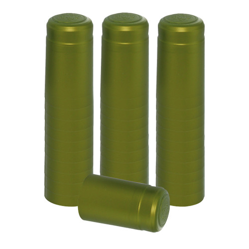 Home Brew Ohio Metallic Lime Green PVC Shrink Capsules 30 count