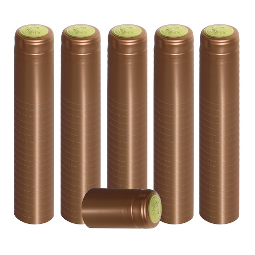 Home Brew Ohio Bronze PVC Shrink Capsules 100 count