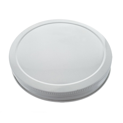 Metal 110mm Lid For One Gallon And 64oz Wide Mouth Glass Jar