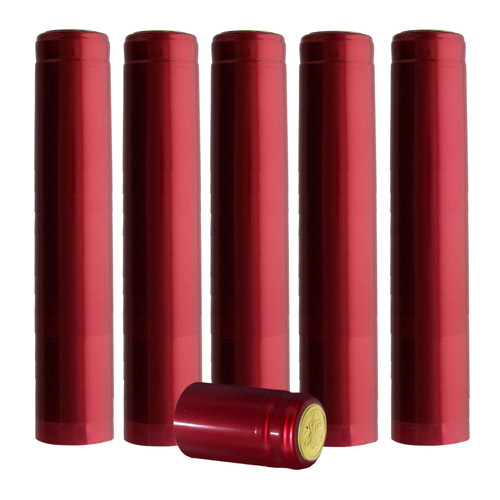 Home Brew Ohio Metallic Ruby Red PVC Shrink Capsules 100 count