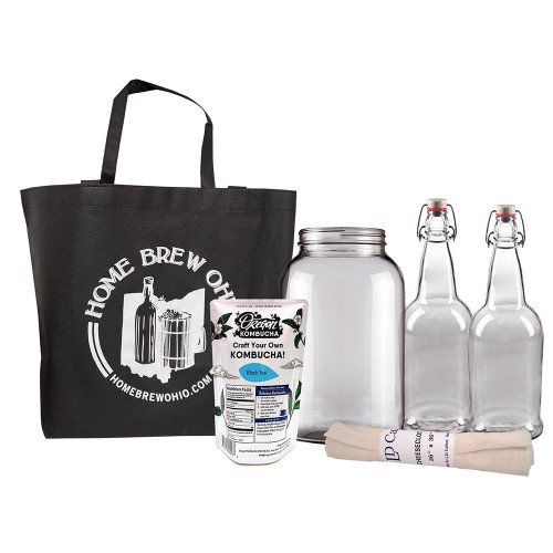 Kombucha Home Experience Gift Collection-Black Tea