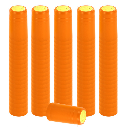 Home Brew Ohio Orange PVC Shrink Capsules 8000 count