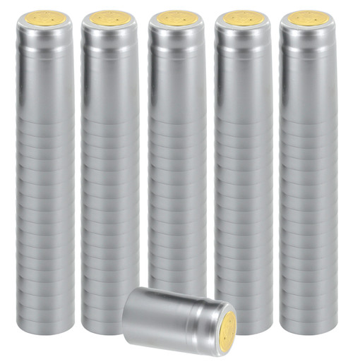 Home Brew Ohio Silver PVC Shrink Capsules 8000 count