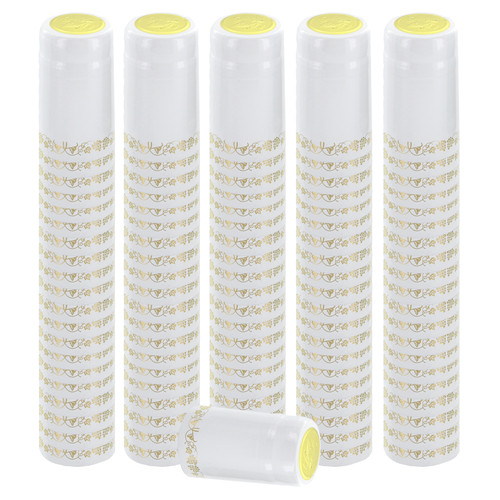 Home Brew Ohio White With Gold Grapes PVC Shrink Capsules 8000 count