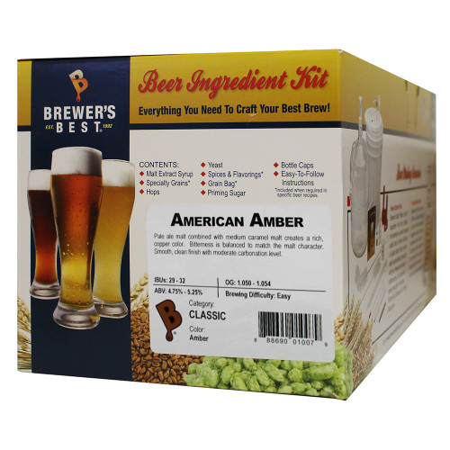 Brewer's Best American Amber Beer Kit - 5 Gallon