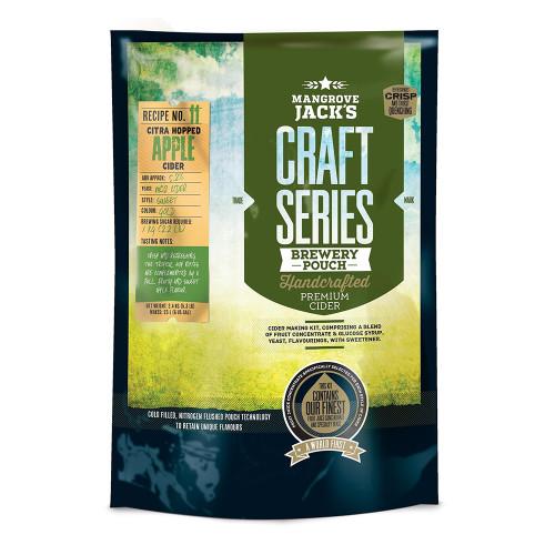 Mangrove Jack's CS Dry Hopped Apple Cider Recipe Kit, 6 gallons