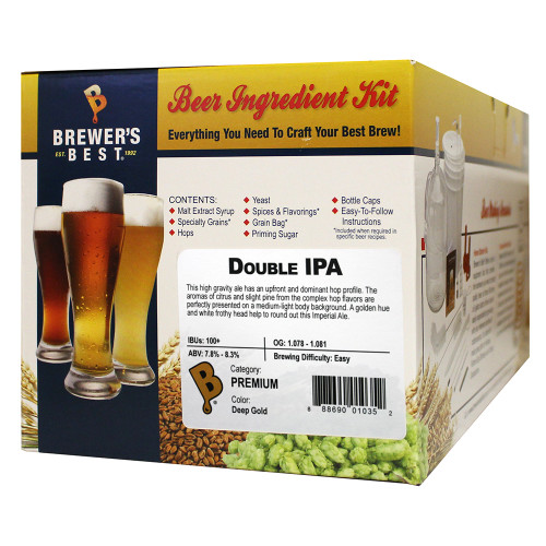 Brewer's Best Double IPA Beer Kit - 5 Gallon