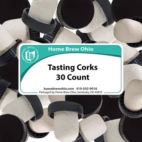 Home Brew Ohio Wine Tasting Corks 30 count