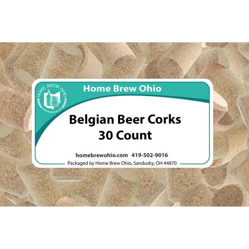 Home Brew Ohio Belgian Beer Corks 30 count