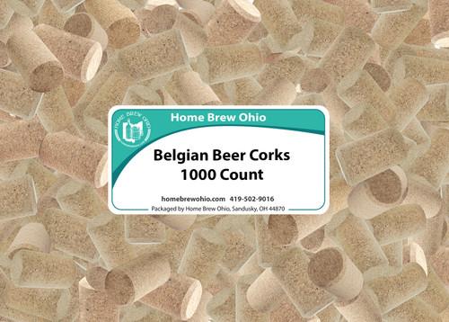 Home Brew Ohio Belgian Beer Corks 1000 count