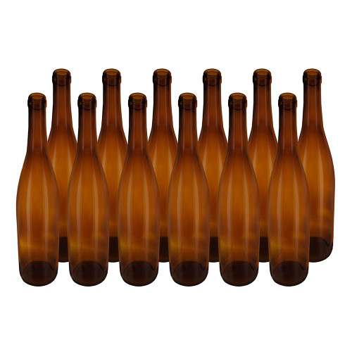 Home Brew Ohio Amber 750ml Hock Bottles Case of 12