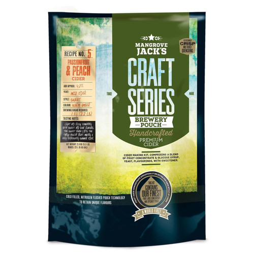 Mangrove Jack's Craft Series Mixed Berry Cider Recipe Kit, 6 gallons