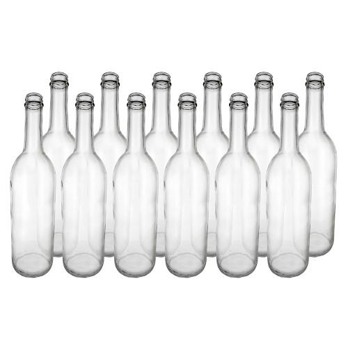 Home Brew Ohio Clear 750ml Bordeaux Screw Top Bottles Case of 12