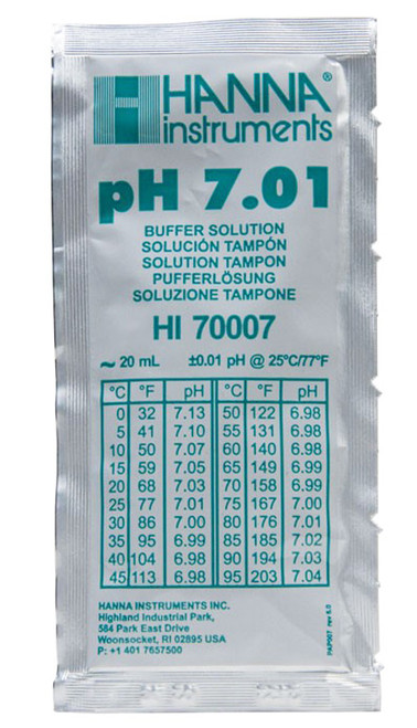 20 ml - pH 7.01 - Buffer Solution - pH