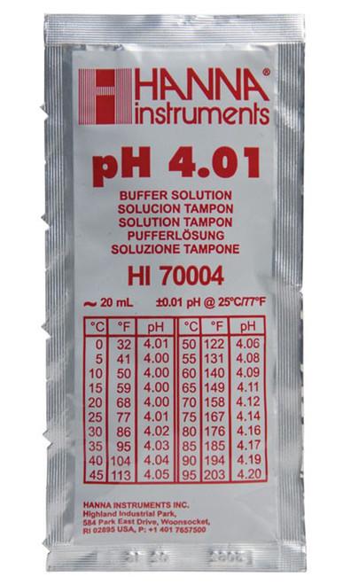 Hanna 4.01 pH Calibration 20 ml packet