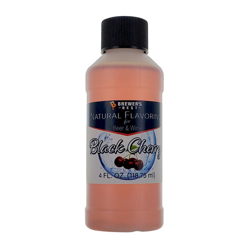 Brewer's Best All Natural Flavorings - Black Cherry 4oz