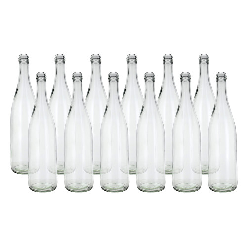 Home Brew Ohio Clear 750ml Hock Bottles Case of 12