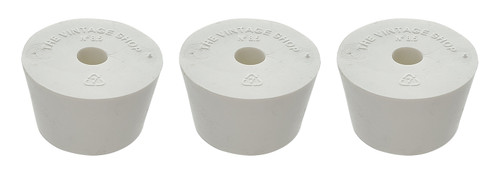 Home Brew Ohio #8.5 Drilled Rubber Stopper Set of 3