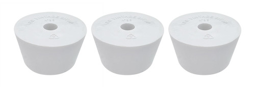 Home Brew Ohio #9.5 Drilled Rubber Stopper Set of 3