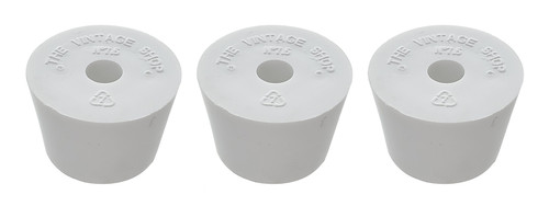 Home Brew Ohio #7.5 Drilled Rubber Stopper Set of 3