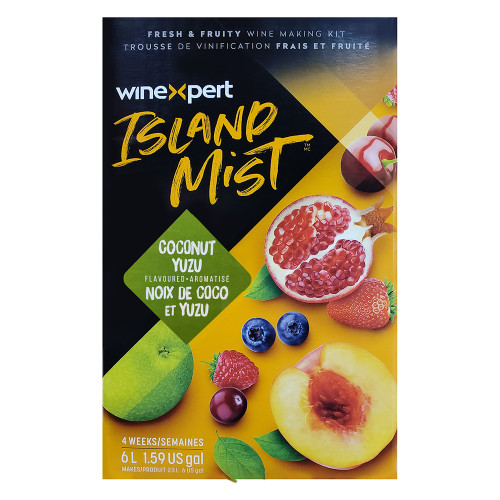Island Mist Coconut Yuzu Wine Ingredient Kit