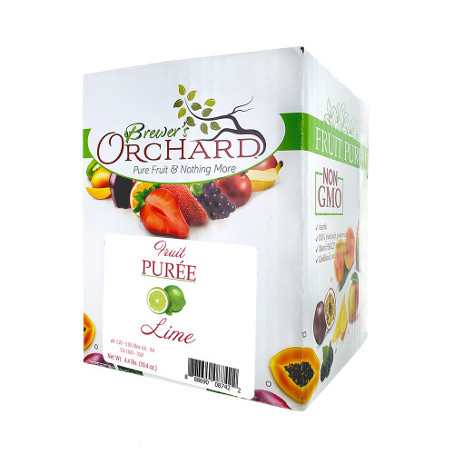 Brewer's Orchard Natural Lime Fruit Puree 4.4lb