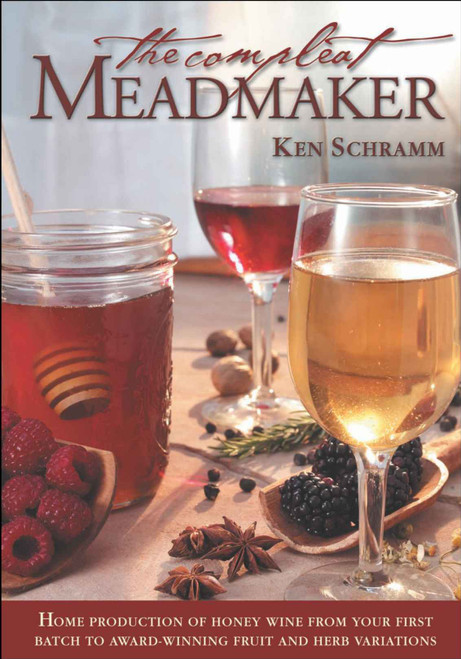 The Compleat Meadmaker Book Cover Front