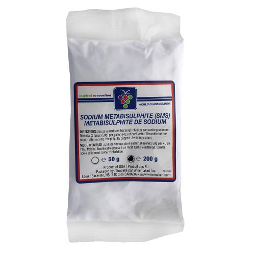 Home Brewing Wine Stabilizer And Sanitizer Sodium Metabisulphite - 200g