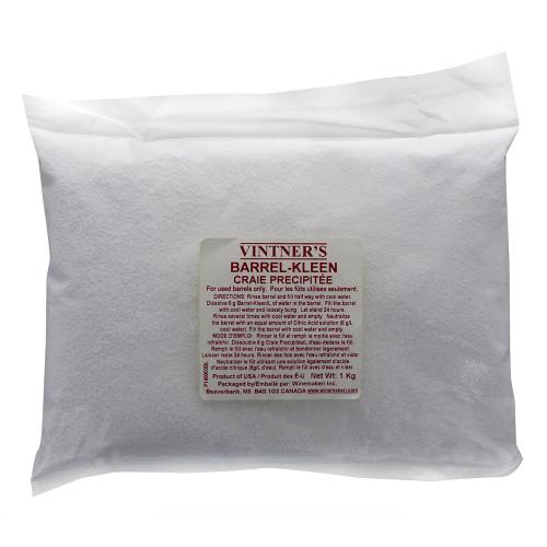 WMI Vintner's Barrel-Kleen 1kg (2.2lbs) For Home Brewing