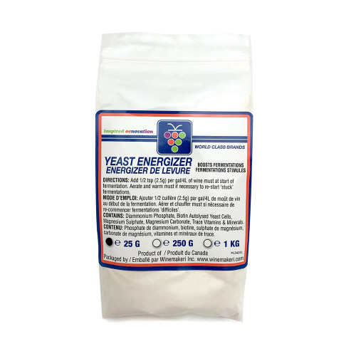 Yeast Energizer 25g For Home Brewing