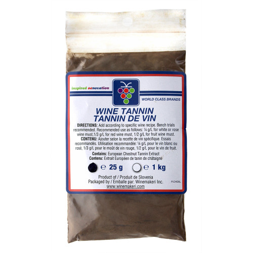 Wine Tannin (Chestnut) For Home Brewing 25g For Home Brewing