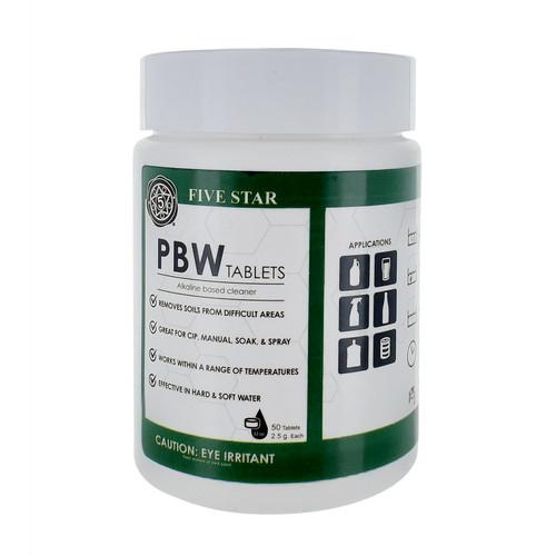 Five Star - PBW Tablet 2.5g 50ct