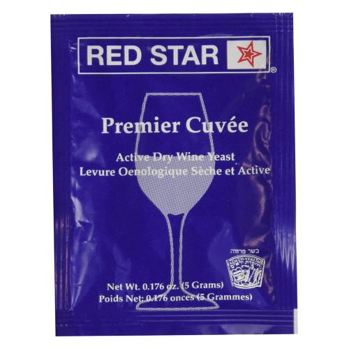 Red Star Premier Cuvee Wine Yeast - 1 Pack