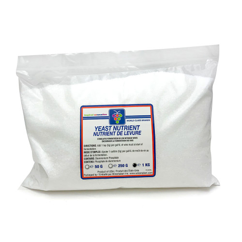 WMI Yeast Nutrient (DAP), 1kg (2.2lbs) For Home Brewing