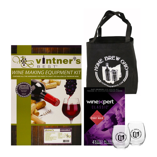 6 Gallon Wine Adoration Gift Collection - Pinot Noir Wine Kit
