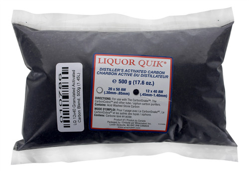LQ 12x40 Granulated Activated Carbon Blend, 500g (1.45L)