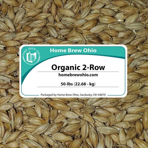 Malt - Briess - Organic 2 Row Malt (50 LB)