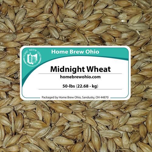 Malt - Briess - Midnight Wheat (50 lb Sack)