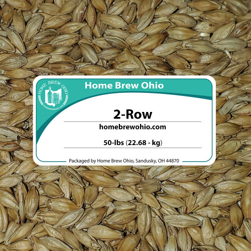 2-Row Brewers Malt For Home Brewing Whole Grain (50 lb)