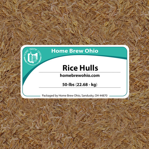 Rice Hulls 50 Lb.