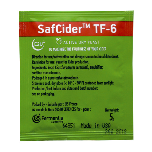 Fermentis SafCider™ TF-6 (5g)