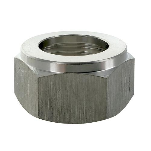 Hex Nut, Stainless Steel Beer Hex Nut (29/32″-14 Beer Thread)