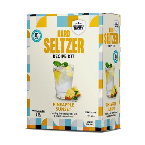 Mangrove Jack's Hard Seltzer Kit: Pineapple Sunset