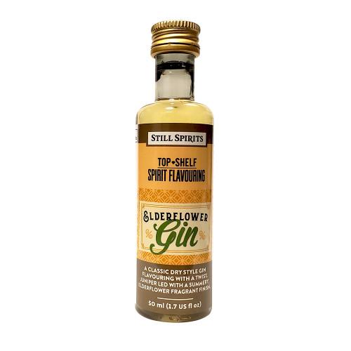 Still Spirits Top Shelf Elderflower Gin Flavoring (Does Not Contain Alcohol)